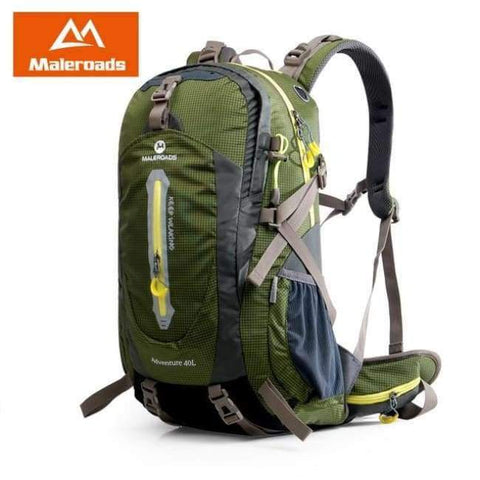 Planet Gates Army Green / 30 - 40L / China Rucksack Camping Hiking Backpack Sports Bag Outdoor Travel Backpack Trekk Mountain Climb Equipment 40 50L Men Women