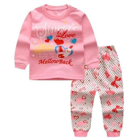 Planet Gates B / 24M Cartoon Shirt+pants 2pcs Children's Clothing Set Outfit Toddler Baby Boys Long Sleeves Set 12m-5t For Autumn