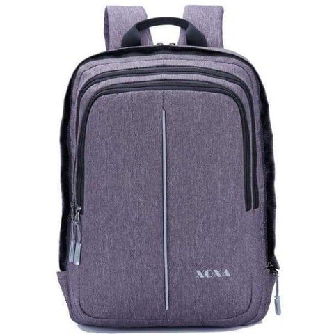Image of Planet Gates Bags E Grey / 15 Inches / Free Shipping XQXA Anti-theft Backpack with USB Charging Port and Earphones Prot 15.6-17.3 Inch Laptop Notebook Men Backpack 8608 8609 Basis
