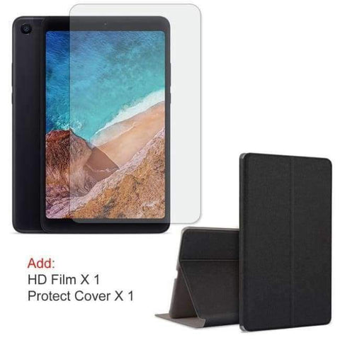 Planet Gates Balck Add Film Cover / WiFi 3GB 32GB / Spain Xiaomi Mi Pad 4 MiPad 4 Tablet 8 inch Snapdragon 660 Octa Core 32GB / 64GB 1920x1200 FHD 13.0MP+5.0MP AI Face ID Android Tablet