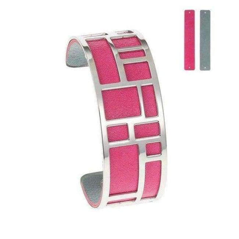 Image of Planet Gates BC0071703 Cremo Love Bracelets & Bangles Stainless Steel Bracelet Bijoux Femme Manchette Reversible Leather Cuff Pulseiras