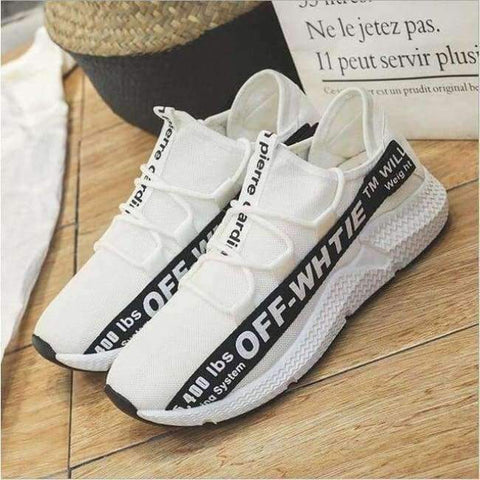 Planet Gates Black 1 / 6.5 ELGEER 2018 Casual Shoes Men Breathable Autumn Summer Mesh Lovers Shoes Brand Femme Chaussure Ultras Boosts Superstar Sneakers