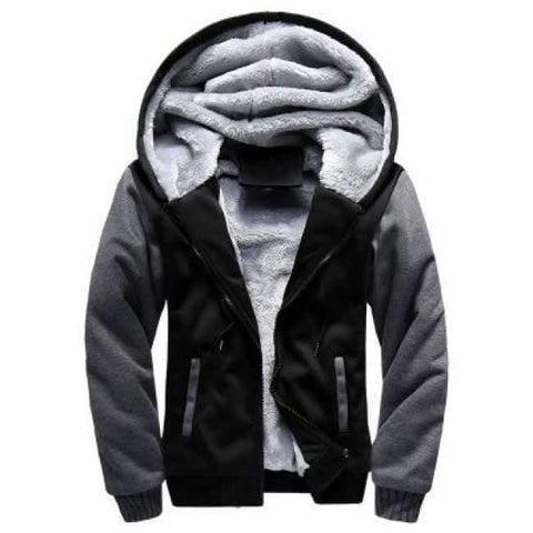 Image of Planet Gates Black / 15 Boys Clothes Winter Super Warm  Hoodies Sweatshirts Thick Fleece Teenage Boys Camouflage Jackets Velvet Kids Coats 15-20