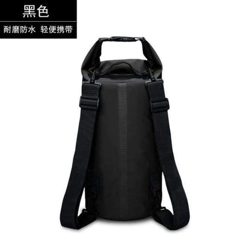 Image of Planet Gates Black 15L Swimming Waterproof Bags Storage Dry Sack Bag For Canoe Kayak Rafting Outdoor Sport Bags Travel Kit Equipment