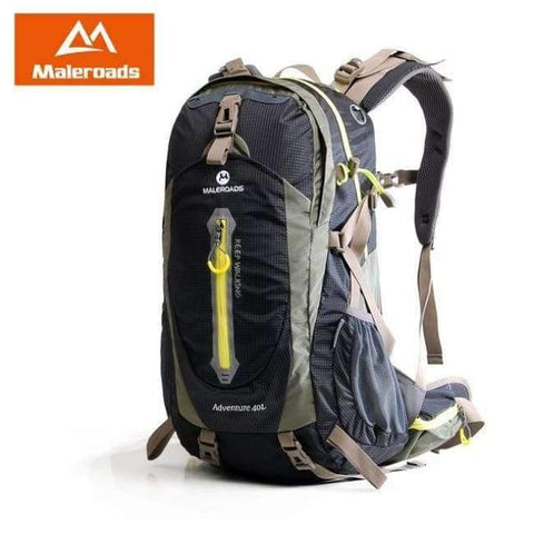 Planet Gates Black / 30 - 40L / China Rucksack Camping Hiking Backpack Sports Bag Outdoor Travel Backpack Trekk Mountain Climb Equipment 40 50L Men Women
