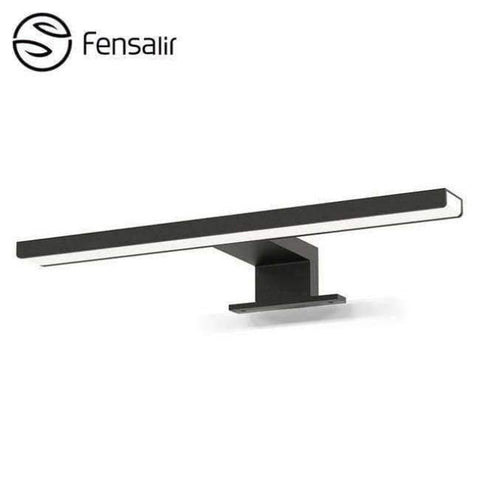 Planet Gates Black / 5W 300mm / Dimmable Fensalir 0-15W Dimmable waterproof Aluminum+ABS+Acryl toilet indoor makeup lighting Bathroom fixtures Led light Mirror Wall lamp
