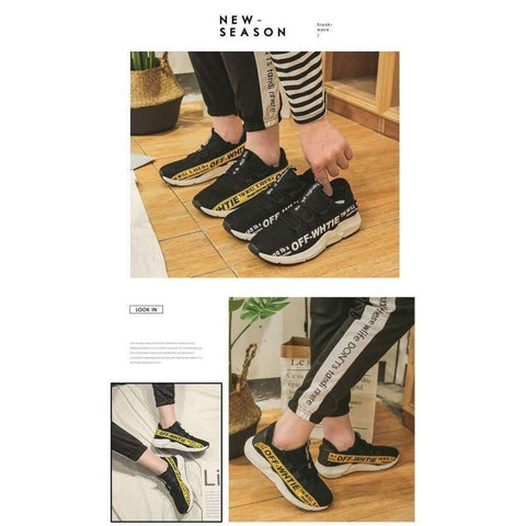 Planet Gates Black / 6.5 ELGEER 2018 Casual Shoes Men Breathable Autumn Summer Mesh Lovers Shoes Brand Femme Chaussure Ultras Boosts Superstar Sneakers