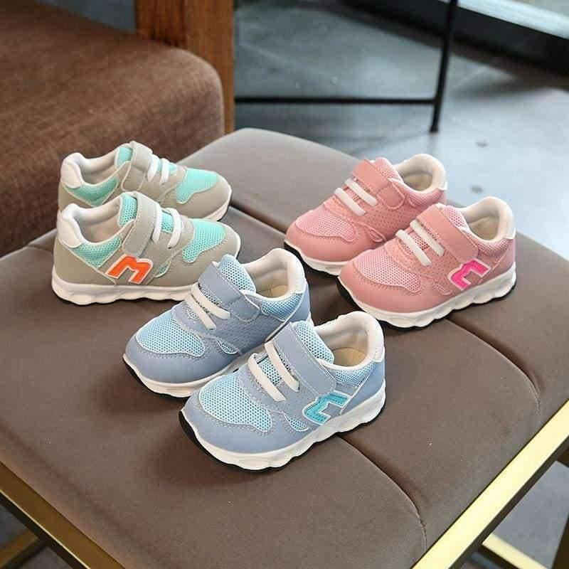 Planet Gates Black / 6.5 European new brand fashion baby girls boys shoes high quality kids sneakers classic light breathable children shoes