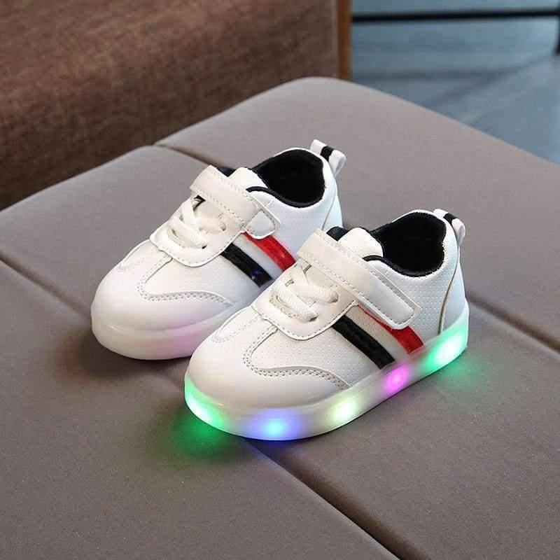 Planet Gates Black / 6.5 Fashion cool noble shoes children Lovely LED glowing high quality baby boys girls shoes sports kids running sneakers