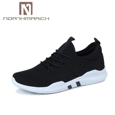 Planet Gates Black / 7 NORTHMARCH Spring And Summer Fashion Mens Casual Shoes Lace-Up Breathable Shoes Sneakers Mens Trainers Zapatillas Hombre