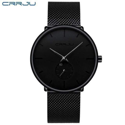 Planet Gates black black Mens Watches Top Brand Luxury Quartz Watch Men Casual Slim Mesh Steel Waterproof Sport Watch Relogio Masculino