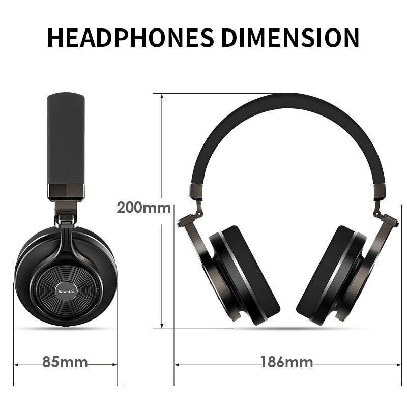 64af968d040 ... Bluedio T3 Plus Wireless Bluetooth Headphones/headset with Microphone/.  Tap to expand