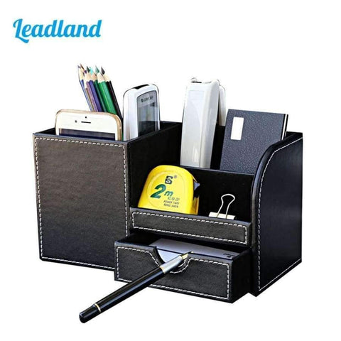 Planet Gates Black / China Multi-function Desk Stationery Organizer Pen Holder Pens Stand Pencil Organizer for Desk Office Accessories Supplies Stationery