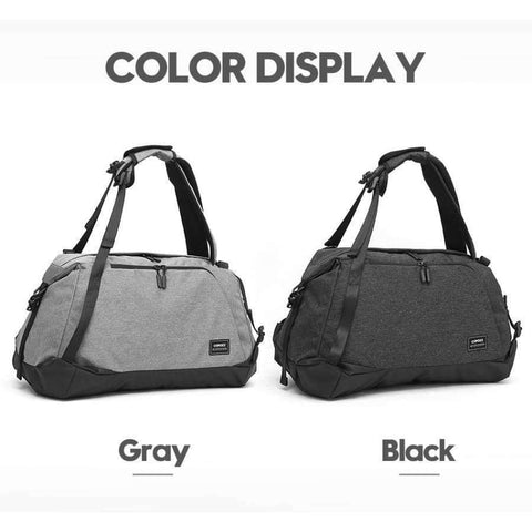 Planet Gates Black Color / China Sport Gym Bag 35-55L with Shoes Compartment Waterproof Bag Unisex Backpack Crossbody Support Durable Fitness Travel Bags