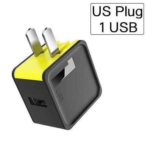 Planet Gates black green / US 1 USB Port ROCK Mobile Phone Charger 5V1A 5V2.4A Universal Travel Phone USB Charger, 124 USB Wall Charger for iPhone Adapter Clearance 49%