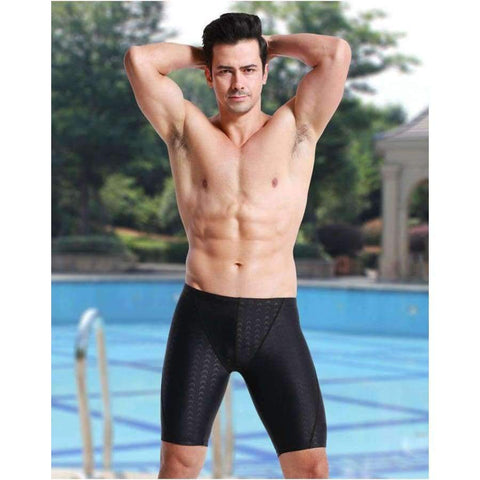 Planet Gates Black / L Free shipping And Hot sale shark,water repellent,men's long racing swimming swim trunks Sport shorts classic men swimwear