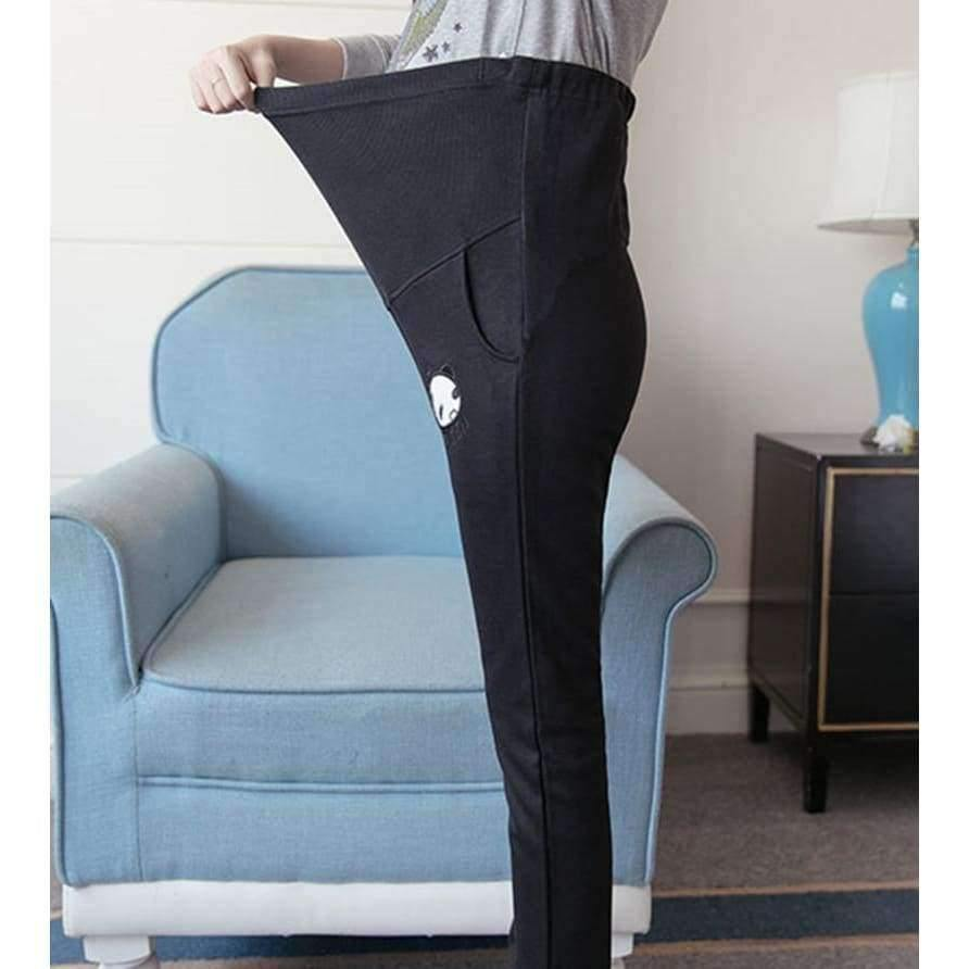 Planet Gates Black / M Casual Maternity Pants for Pregnant Women Maternity Clothes for Summer Overalls Pregnancy Pants Maternity Clothing Female