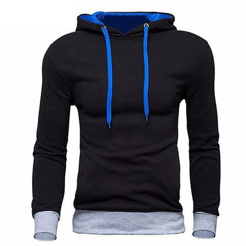 Planet Gates Black / M Men's Sweatshirt  New design Fashion Solid Hooded Casual Autumn Hoodies 4 Colors Male High Quality Pullover
