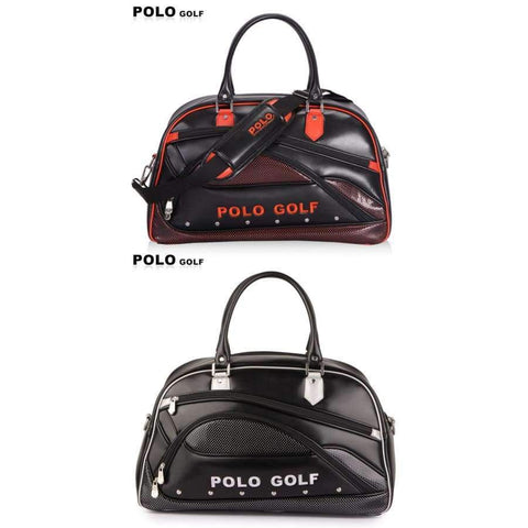 Image of Planet Gates Black New Genuine Polo Brand Golf Bag for Men's Clothing Bag Women PU Bag Large Capacity High-quality