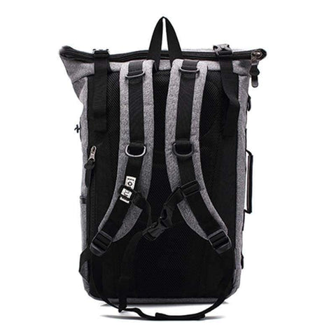 Image of Planet Gates Black Ozuko New Multi-functional Casual Men Backpacks Travel Mochila Shoulder Bag Creative Male Waterproof Laptop Backpack School Bags