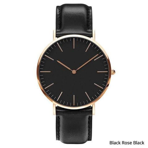 Image of Planet Gates Black rose black Mens Stainless Steel Bracelet Quartz Watch Fashion Rose Gold Silver Man Watch Style Men Dress Watch 40mm
