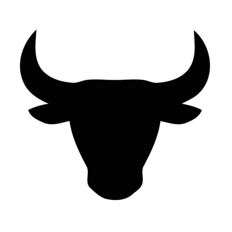 Planet Gates Black Taurus Zodiac Astrology Sign Vinyl Car Window Decal Creative Car Stickers  Motorcycle Exterior Accessories JDM