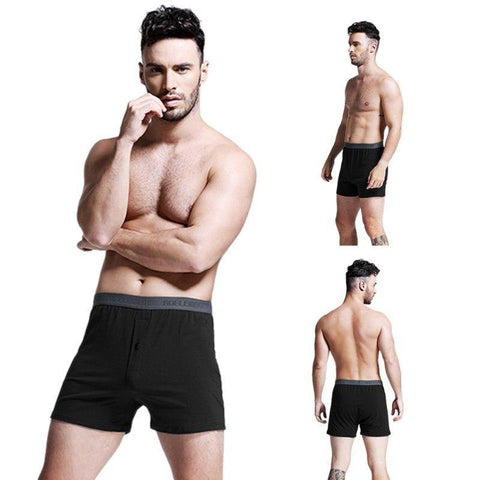 Planet Gates Black / XXL / China Fashion Men Arrow Pants Lounge Pants Male Panties Pajama Home  Loose Wear Sexy Lingerie