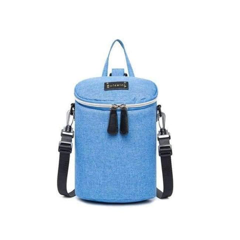 Image of Planet Gates Blue 1 Diaper Bag and Insulation Bags Fashion Maternity Mummy Backpack Nappy Changing Organizer Waterproof Baby Care Bags