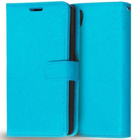 Image of Planet Gates Blue Case for Lenovo P70 Cover Luxury Wallet Leather Flip Phone Case For Lenovo P70 P70-A P70T P70-T P 70 Case With Card Slot Holder