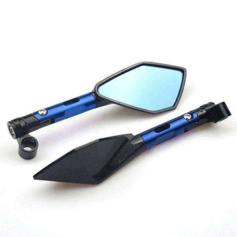 Image of Planet Gates blue For Yamaha R15 R6 R3 R1 R25 Rear view Mirrors Motorcycle Accessories Moto Rearview Side Round Mirror Screw Motorbike Parts
