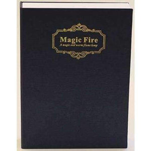 HMDVIDA LED flame table Lamp magic fire book light gift night light