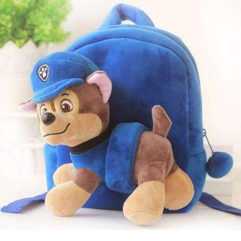 Planet Gates blue Kids Bag For Girls Cute Plush Dog Backpacks For Boys Preschool Bags Baby Toddler Backpack Kindergarten SchoolBags For Children