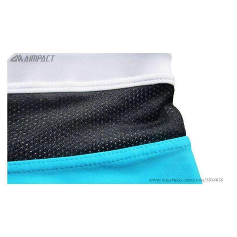Planet Gates Blue / L Aimpact New Men's Swimwear High Quality Men's Swimming Shorts Men's Beachwear Sport Summer Holiday Surf Mens Swimsuit AQ01