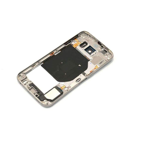 Planet Gates Blue Middle frame for Samsung Galaxy S6 G920 G920F Back Plate Bezel Housing Case Free Tools Replacement Parts