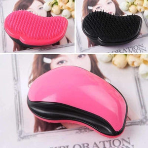 Mouse Comb Tangle Hair Brush Professional Hairbrush Paddle Detangler Brushes Massage Care Styling Women Anti--Static