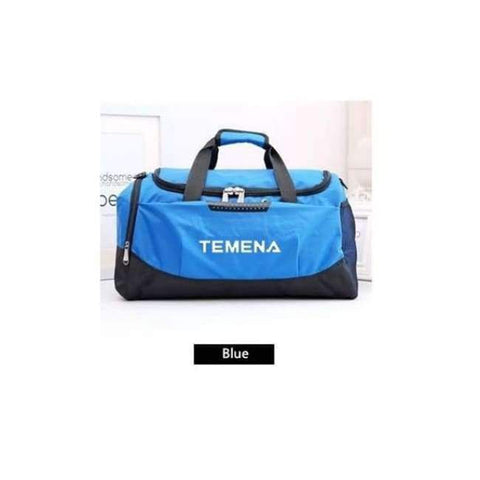 Planet Gates Blue New Men Sport Gym Bag Lady Women Fitness Travel Handbag Outdoor Bags with Separate Space For Shoes sac de sport