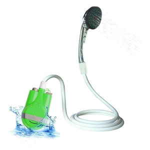Planet Gates Blue Outdoor shower USB Shower camping car Water Pump Rechargeable camping shower hiking camping equipment kit camping