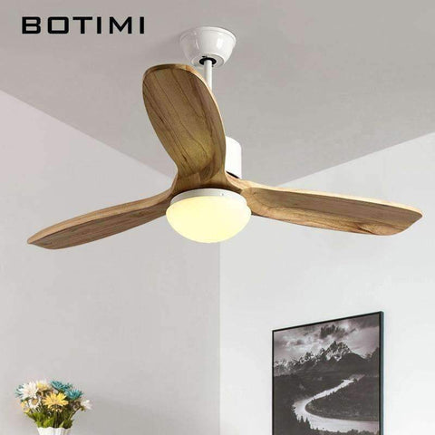 Image of Planet Gates Brown Botimi 2018 New Ceiling Fan For Living Room Ventilador de techo Ceiling fans with Lights 48 Inch Modern Cooling Fan Fixtures
