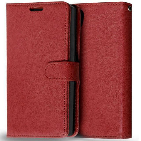 Image of Planet Gates Brown Case for Lenovo P70 Cover Luxury Wallet Leather Flip Phone Case For Lenovo P70 P70-A P70T P70-T P 70 Case With Card Slot Holder