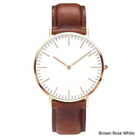 Planet Gates Brown rose white Mens Stainless Steel Bracelet Quartz Watch Fashion Rose Gold Silver Man Watch Style Men Dress Watch 40mm