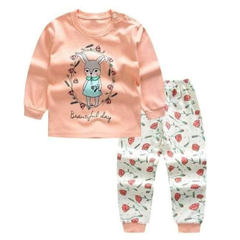 Planet Gates C / 24M Cartoon Shirt+pants 2pcs Children's Clothing Set Outfit Toddler Baby Boys Long Sleeves Set 12m-5t For Autumn