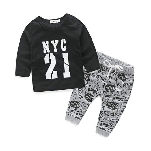Planet Gates c / 3M Newborn clothes for bebes style letter printed casual baby boy clothes baby newborn baby clothes baby clothing kids clothes