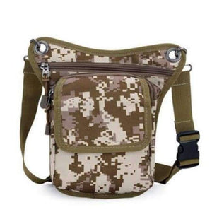 New Arrival Men Messenger Bags Canvas Shoulder Bag Multi Function Casual Man Nylon Waist Leg Pack Travel Designer Camouflage