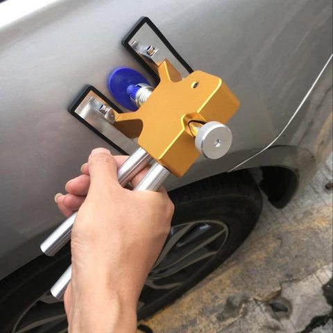 Planet Gates China / 18 PCS Yellow Car Body Paintless Dent Lifter Repair Tool Puller + 18 Tabs Hail أداة إزالة لسيارات bmw e46 e90 ford focus 2 volkswagen mazda jetta