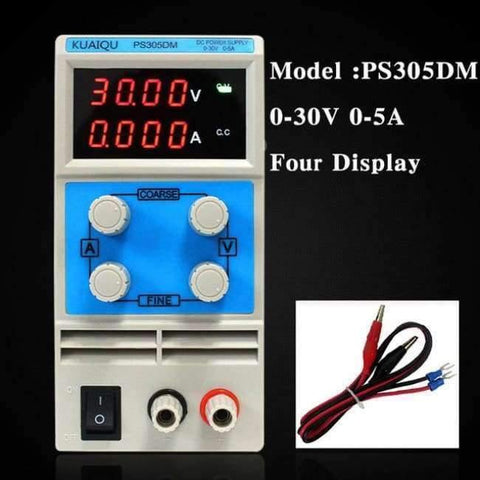 Planet Gates China / 30V 5A Four display Laboratory power supply PS605DM 60V 5A Single phase adjustable SMPS Digital voltage regulator 0.1V 0.01A DC power supply