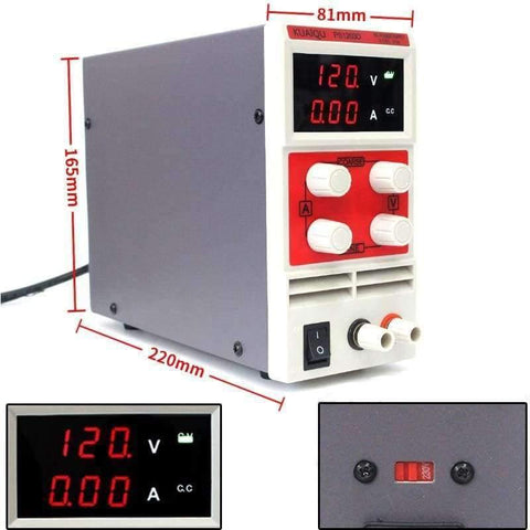 Image of Planet Gates China / 30V 5A three display Laboratory power supply PS605DM 60V 5A Single phase adjustable SMPS Digital voltage regulator 0.1V 0.01A DC power supply
