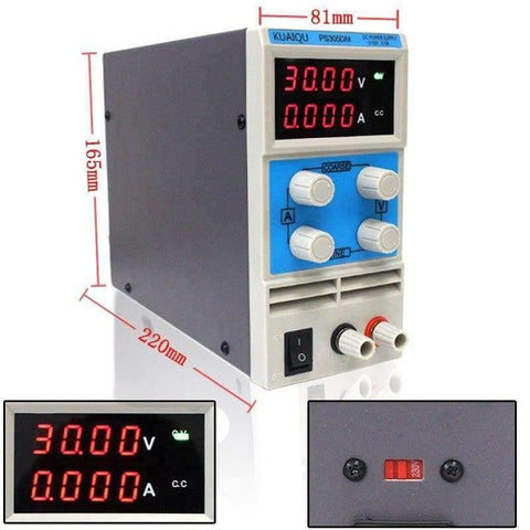 Planet Gates China / 30V 5A three display Laboratory power supply PS605DM 60V 5A Single phase adjustable SMPS Digital voltage regulator 0.1V 0.01A DC power supply