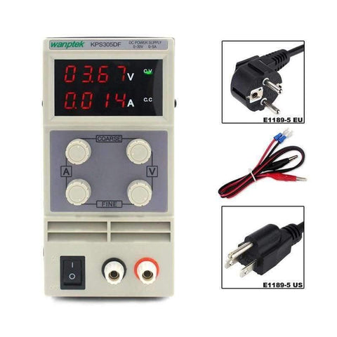 Image of Planet Gates China Adjustable Switching power supply  4 Digits LED Display 30V 5A Mini laboratory DC Power Supply High Precision Variable KPS305DF