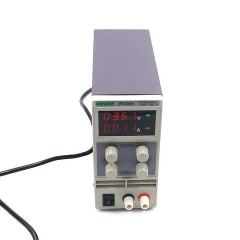 Planet Gates China Adjustable Switching power supply  4 Digits LED Display 30V 5A Mini laboratory DC Power Supply High Precision Variable KPS305DF