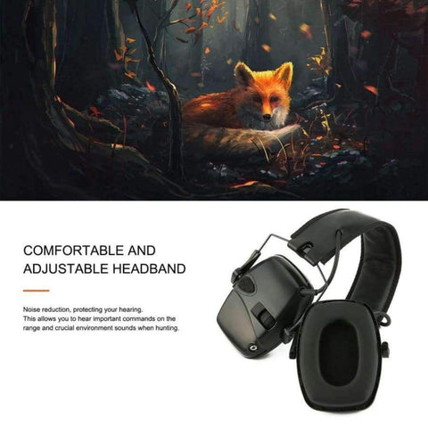 Planet Gates China / Army Green Outdoor Sports Anti-noise Impact Sound Amplification Electronic Shooting Earmuff Tactical Hunting Hearing Protective Headset